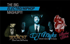 The big electro-hiphop mashup