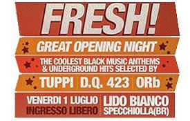 Fresh – Great opening Night